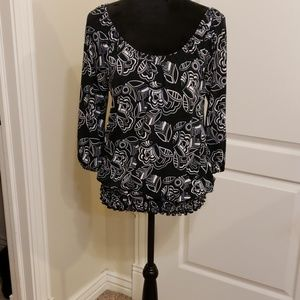 White House and Black Market Blouse